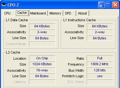 Cache CPU