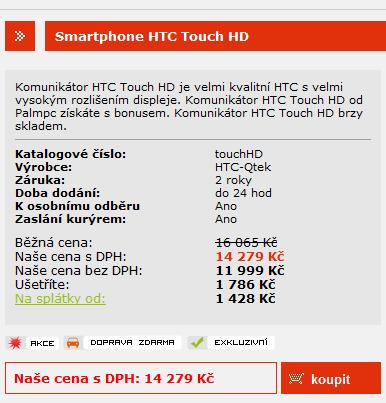 Web PalmPC.cz