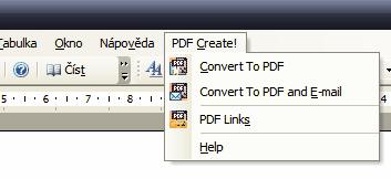 PDF z Microsoft Office