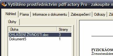 pdfFactory více dokumentů