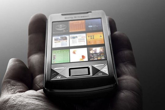 SonyEricsson X1 - high-end s Windows Mobile