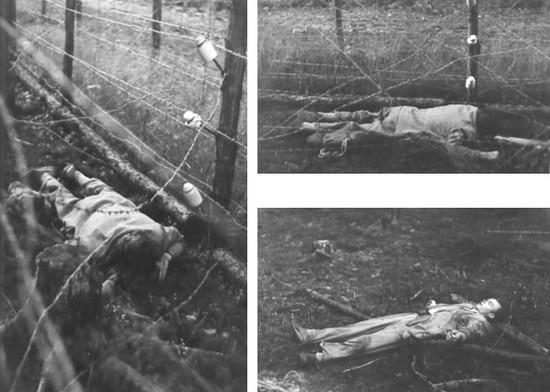 Komunistická hranice nebo plot koncentráku?