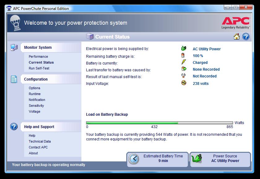 spotřeba PC + monitor v maximální zátěži