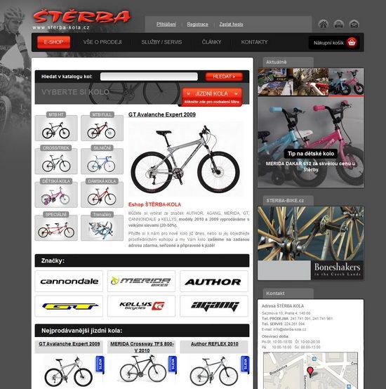 STERBA-KOLA.cz homepage
