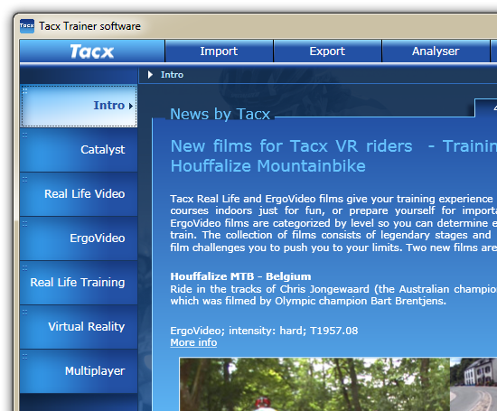 Tacx Trainer 2.0
