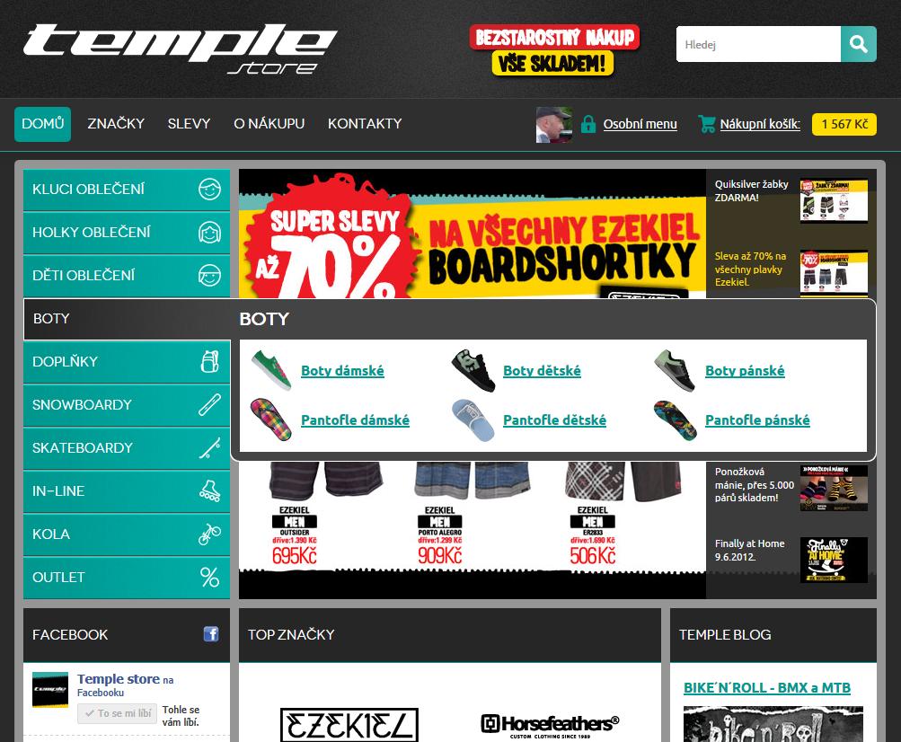 32acb634d65 Jak si snadno koupit boty (aneb umíme 100% přehledný eshop) - MyEgo ...