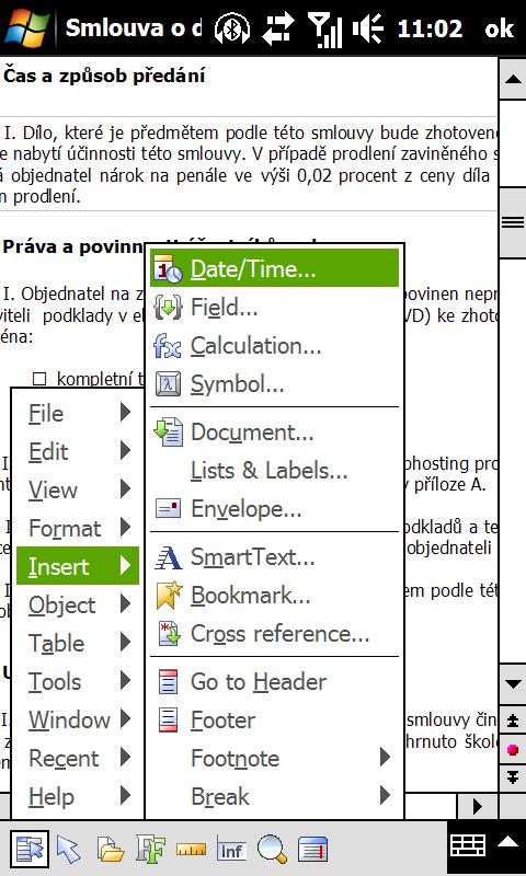 Luxusní TextMaker pro Windows Mobile