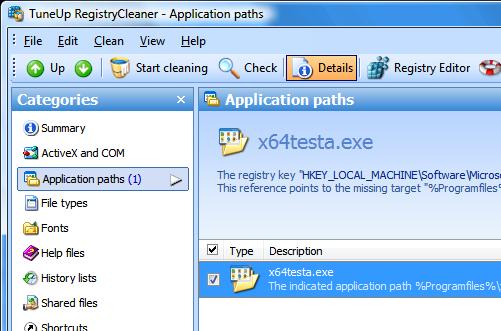 TuneUp Utilities 2007 fungují na Vista x64 korektně