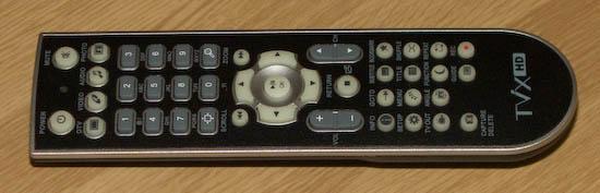 TViX M-6500A dálkové ovládání
