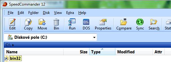 běžný screenshot