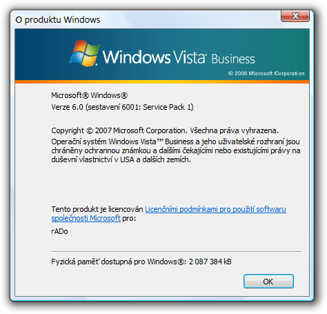 Windows Vista SP1 (6001.18000)