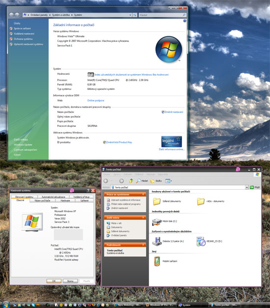 VMWare Workstation 6.5 a Unity View