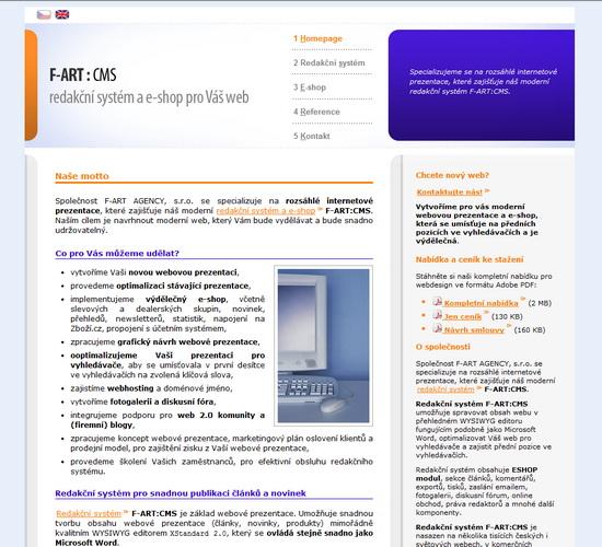 hulan.cz - redakční systém a webdesign
