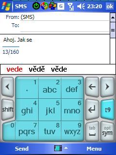 HTC PhonePad - T9 na WM5