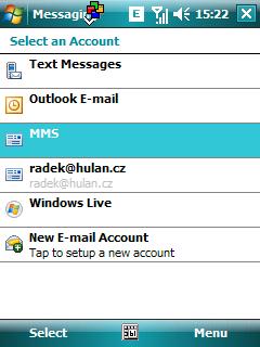 nový Outlook Mobile