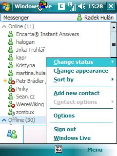 nový Windows Live Messenger