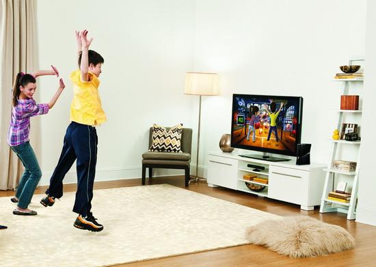 Kinect a TV
