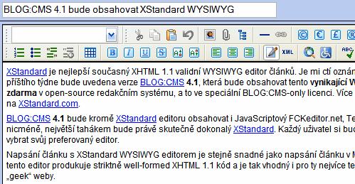 XStandard CMS