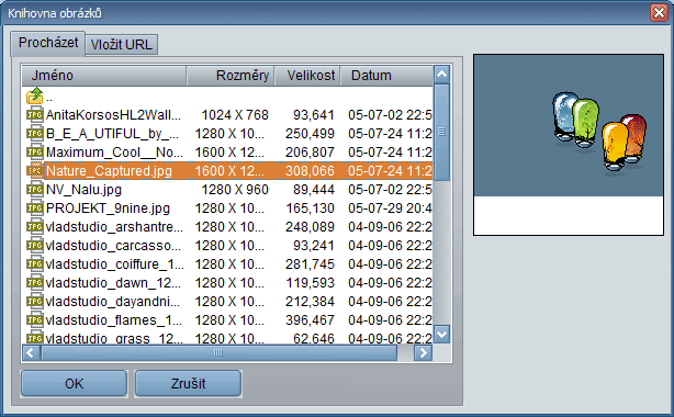 Obrázek z počítače